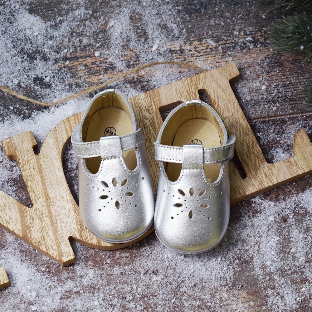 Chaussures cuir souple non fourrées (16-22)