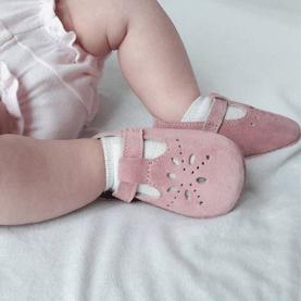 Chaussures cuir souple Salomé