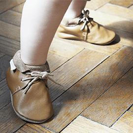 Chaussures cuir souple Tilou