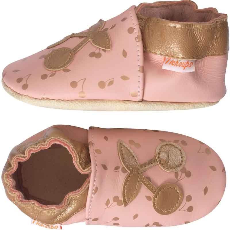 chaussons-bebe-cuir-souple-celine-la-cerise-profil