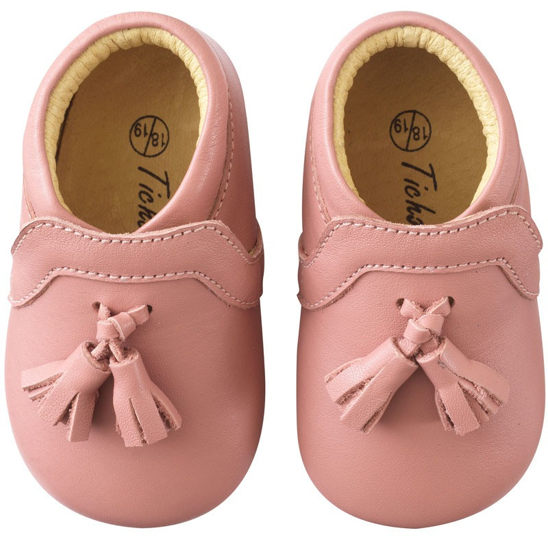 chaussures-bebe-cuir-souple-charly-rose-velours-face