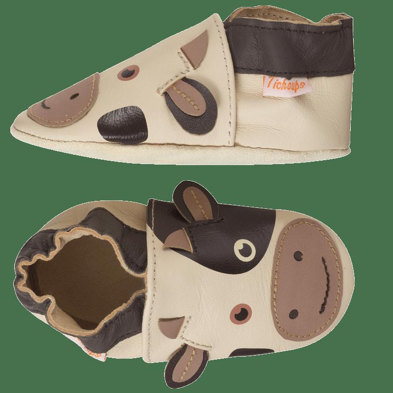 chaussons-bebe-cuir-souple-vache-profil