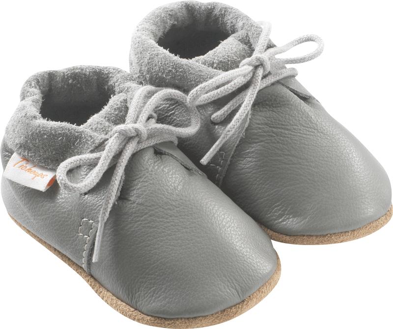 112b583821098 Chaussures bébé cuir souple tilou grises – Tichoups.