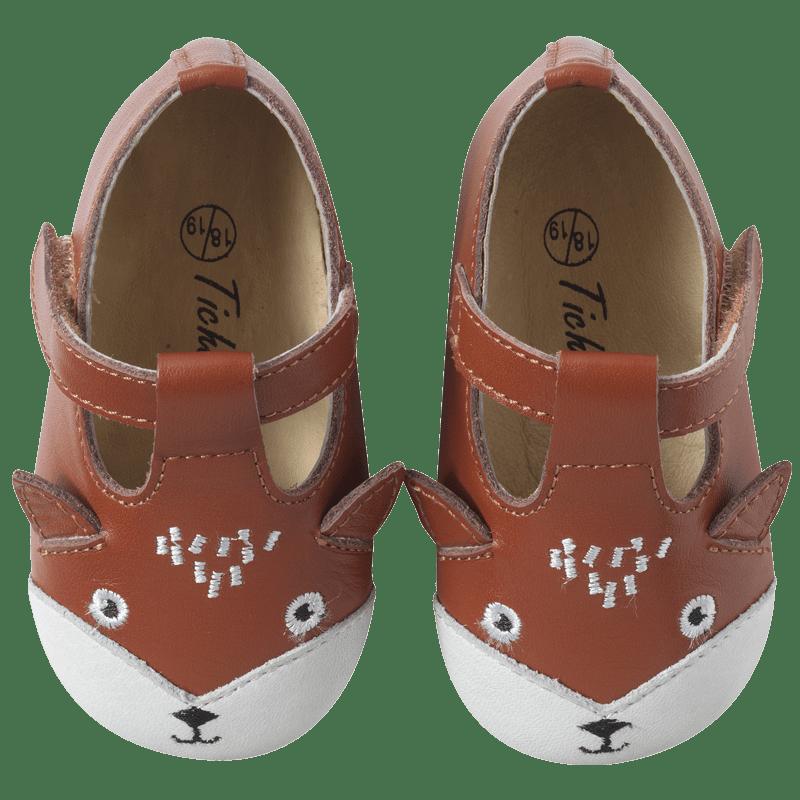 chaussures-bebe-cuir-souple-poopi-renard-camel-face