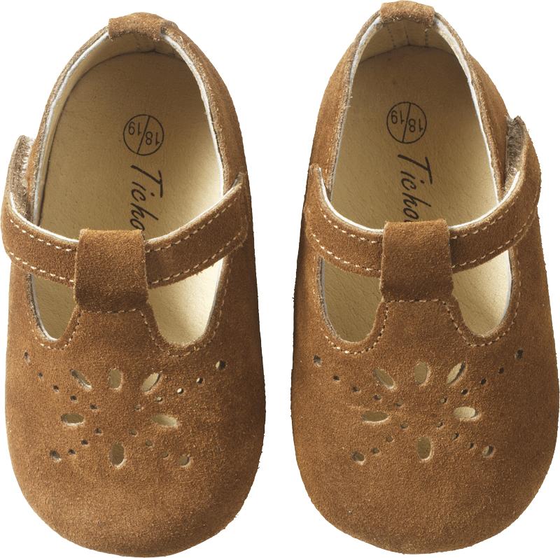 chaussures-bebe-cuir-souple-salome-noisette-face
