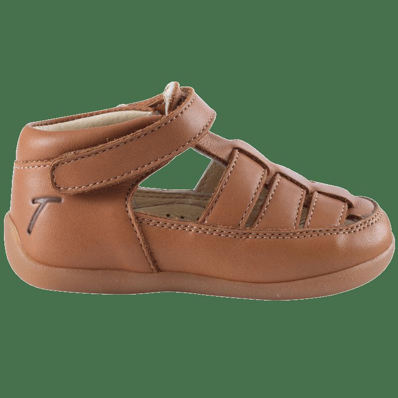 chaussures-premiers-pas-rocky-cognac-profil