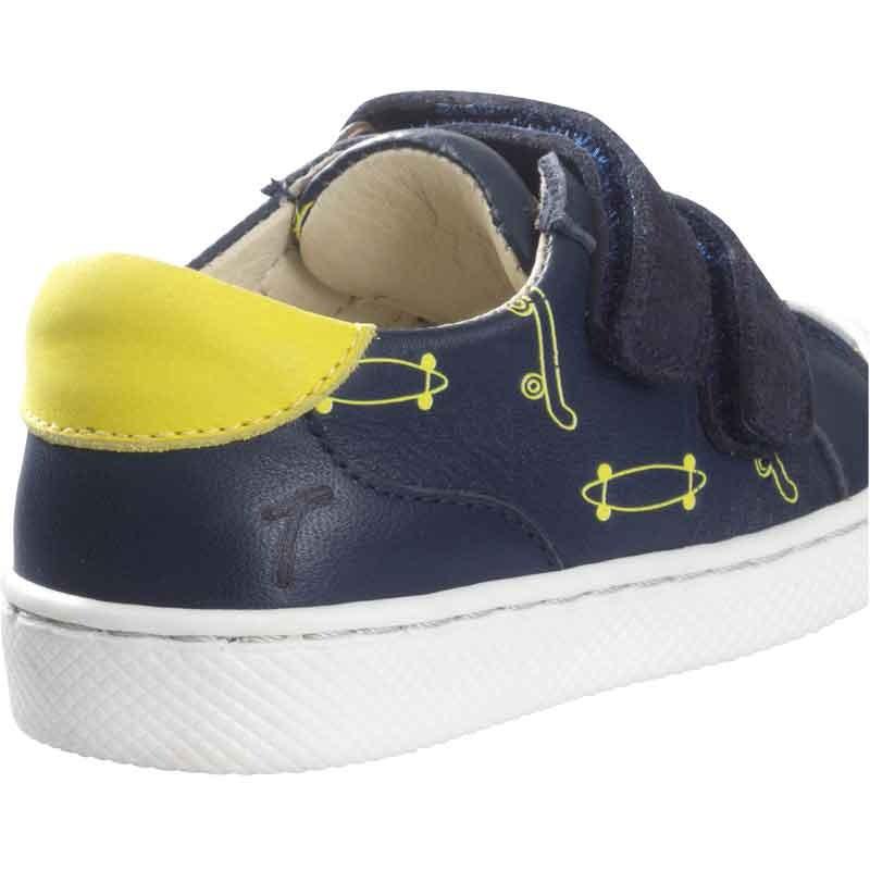 chaussures-premiers-pas-happy-skate-marine-talon