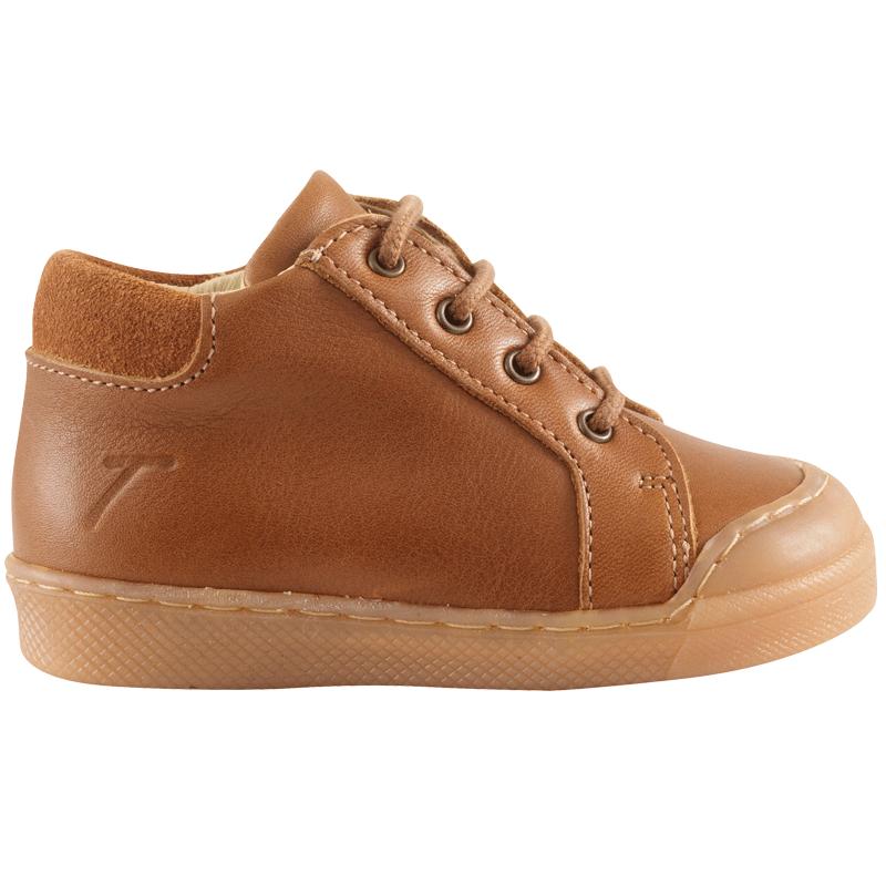 chaussures-premiers-pas-lacy-cognac-redoute