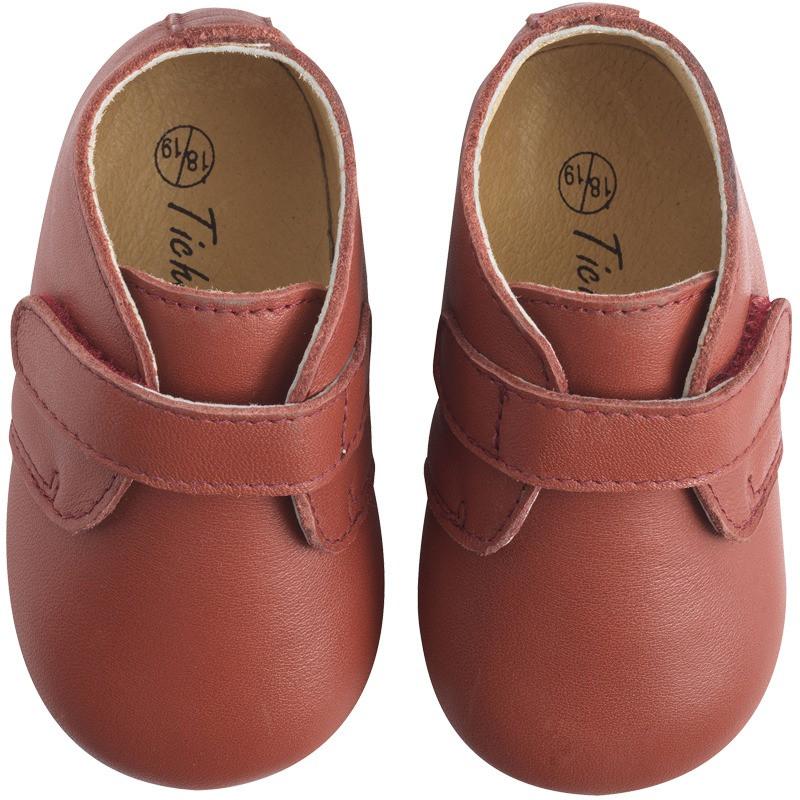 chaussure-bebe-cuir-souple-malou-havane-face