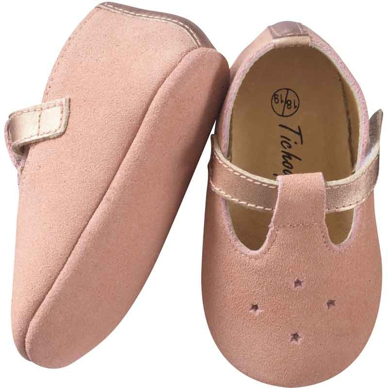 chaussures-bebe-cuir-souple-star-rose-semelle