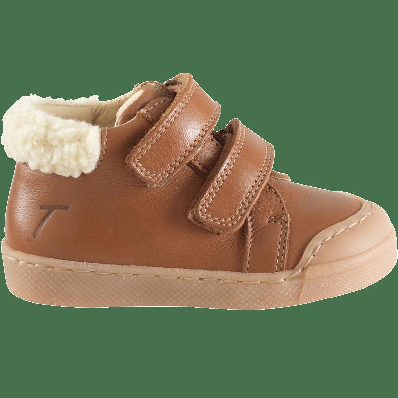 chaussures-premiers-pas-scratchy-camel-profil
