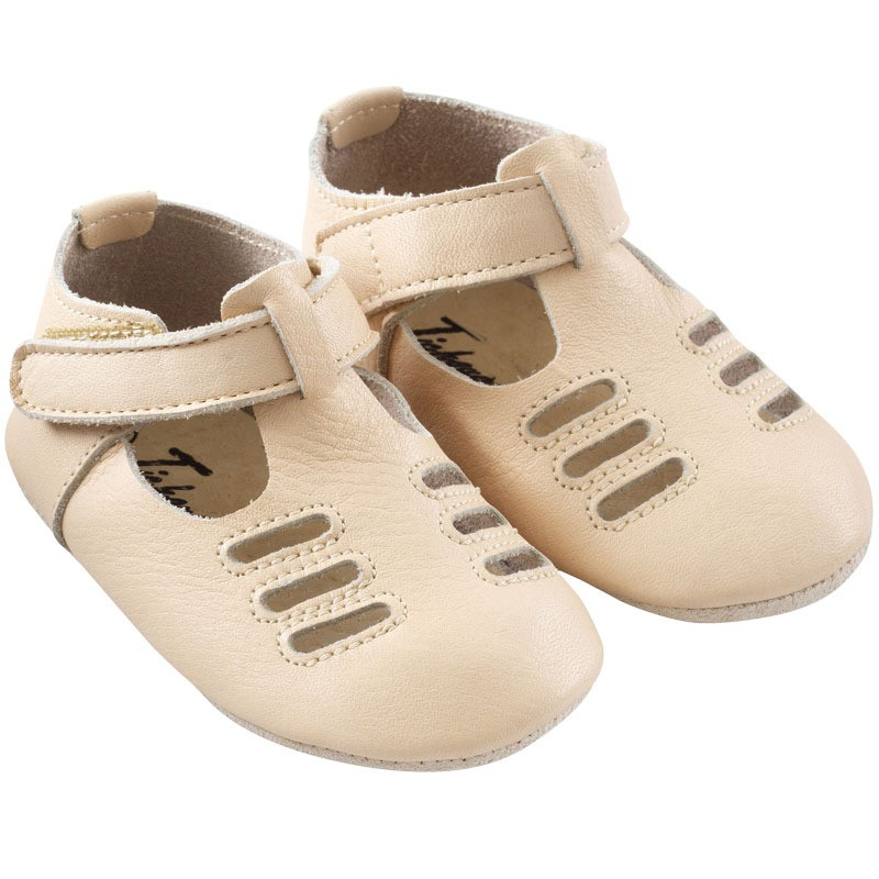 chaussures-bebe-cuir-souple-tibilly-beige-profil