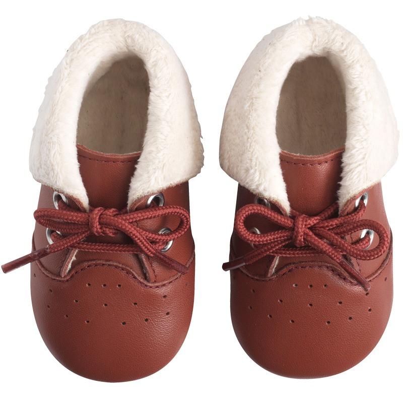 chaussures-cuir-souple-fourres-havane-face