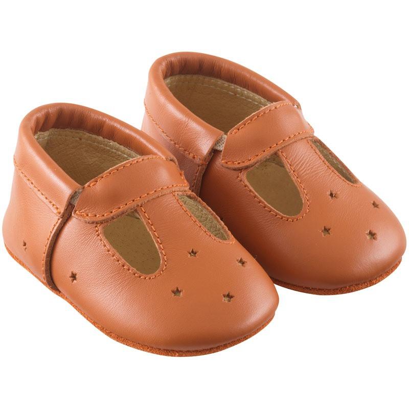 chaussures-bebe-cuir-souple-touti-camel-profil