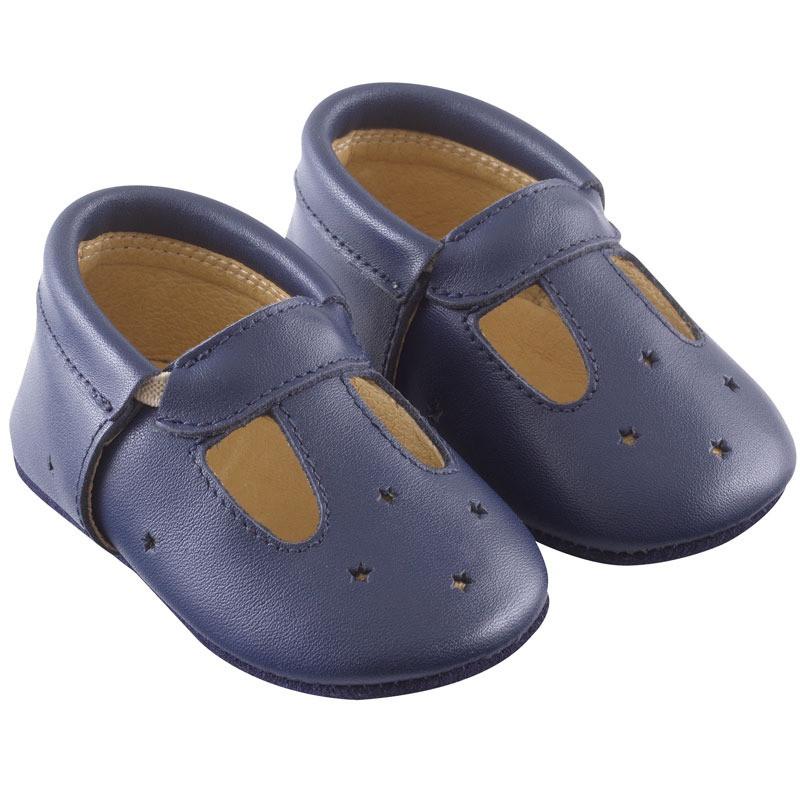 chaussures-bebe-cuir-souple-touti-marine-profil