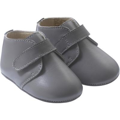 chaussure-bebe-cuir-souple-malou-grise-profil