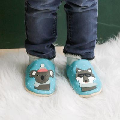 chaussons-bebe-cuir-souple-fourres-hiver-ana-louis-porte