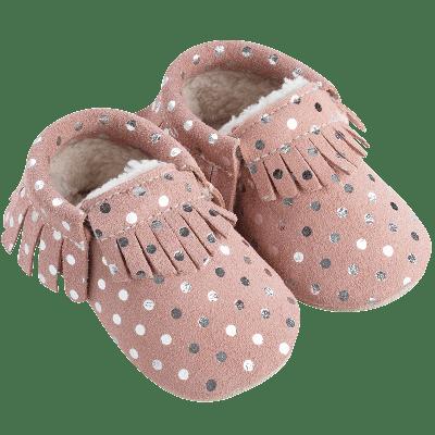 chaussons-bebe-cuir-souple-franges-fourres-png-profil