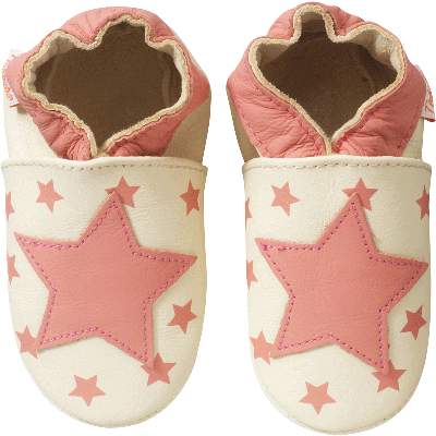 chaussons-bebe-cuir-souple-les-etoiles-face