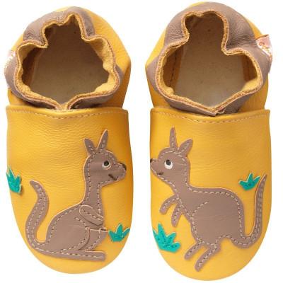 chausson-bebe-cuir-souple-malou-kangourou-face