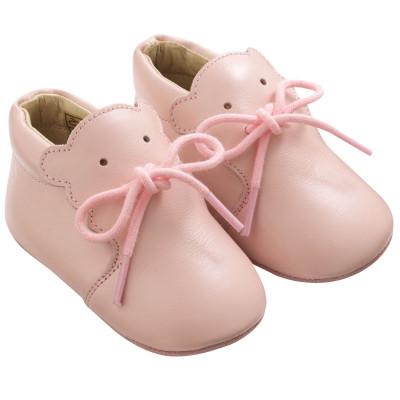 chaussure-bebe-cuir-souple-bobi-rose-profil