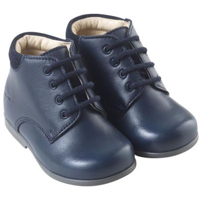 chaussures-premiers-pas-botti-marine-face