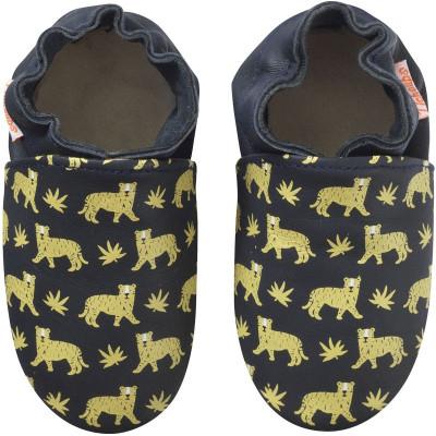 chaussons-bebe-cuir-souple-gonzague-tigres-face