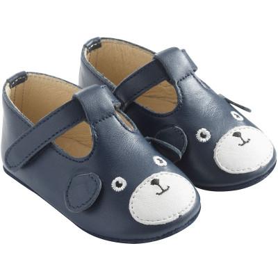 chaussures-bebe-cuir-souple-poopi-chien-bleu-profil
