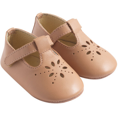 chaussures-bebe-cuir-souple-salome-nude-profil