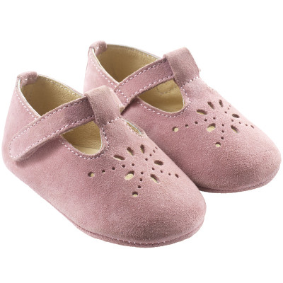 chaussures-bebe-cuir-souple-salome-roses-profil