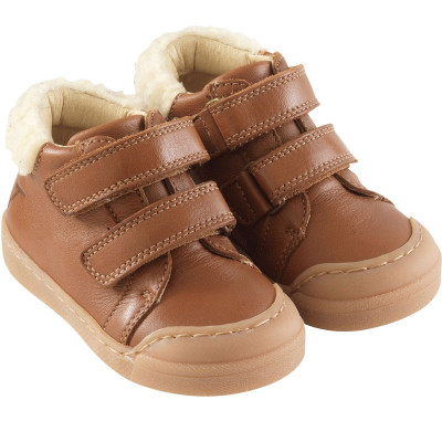 chaussures-premiers-pas-scratchy-camel-face