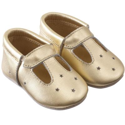 chaussures-bebe-cuir-souple-touti-dore-profil