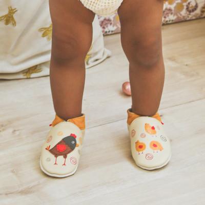 chaussons-bebe-cuir-souple-pola-poussins-porte