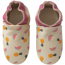 chaussons-bebe-cuir-souple-alix-lili-fruits-face