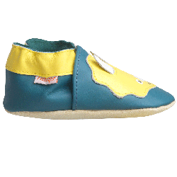 chaussons-bebe-cuir-souple-axel-enzo-dinosaures-redoute