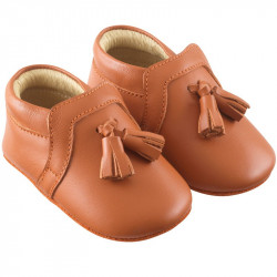 chaussures-bebe-cuir-souple-charly-camel-profil