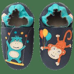 chaussons-bebe-cuir-souple-les-acrobates-face