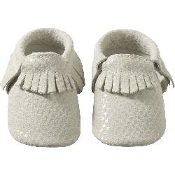 Chaussons-bebe-cuir-souple-franges-etoiles-face