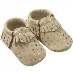 Chaussons-bebe-cuir-souple-franges-pois-profil