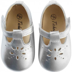 chaussures-bebe-cuir-souple-salome-gris-metallique-face