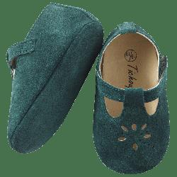 chaussures-bebe-cuir-souple-salome-vert-semelle