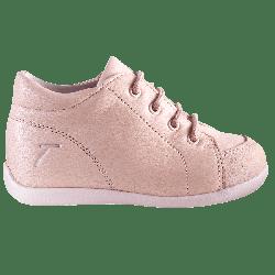 chaussures-premiers-pas-sporti-rose-profil