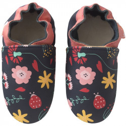 chaussons-bebe-cuir-souple-fanny-fleurs-face