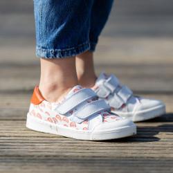 chaussures-premiers-pas-happy-arc-en-ciel-face