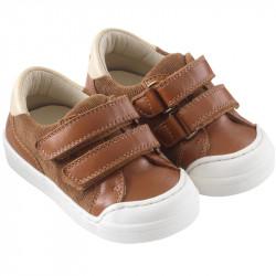 chaussures-premiers-pas-happy-marron-tichoups-chamaye-profil