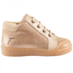 chaussures-premiers-pas-lacy-beige-metallise-redoute