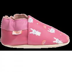 chaussons-bebe-cuir-souple-lana-les-lapins-redoute