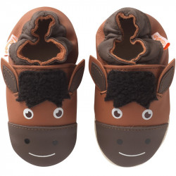 chaussons-bebe-cuir-souple-martial-cheval-face
