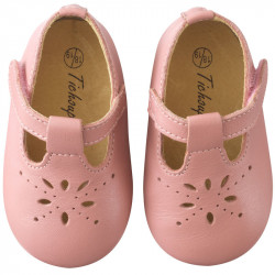 chaussures-bebe-cuir-souple-salome-rose-velours-face