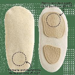 chaussons-bebe-cuir-souple-manon-citron-semelle